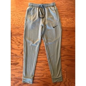 Nike Dri Fit Fleece Training Pants Joggers Size S